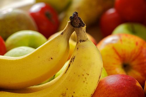 albirea dintilor banane